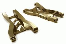 Billet Machined Rear Lower Suspension Arms for 1/10 Traxxas Bandit