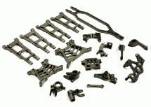 Billet Machined T3 Complete Conversion Kit for 1/10 Slash 4X4