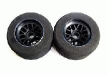 Team Powers 1/10 F-1 Foam Tyre-Yellow Dot(Firm)