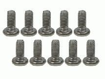 3Racing M2.6 x 6 Titanium Button Head Hex Socket - Machine (10 Pcs)