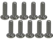 3Racing M2.6 x 8 Titanium Button Head Hex Socket - Machine ( 10 Pcs )