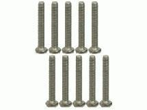 3Racing M2.6 X 18 Titanium Button Head Hex Socket - Machine ( 10 Pcs )