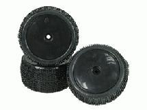 3Racing 1/10 Tyre and Rim Set - Dish Type For DB-01 (4pcs)