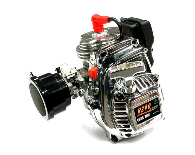 SPECS High Performance Engine 29cc+Side Exhaust+Filter for Baja 5B