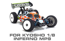 Hop-up Parts for Kyosho Inferno MP9