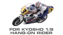 Hop-up Parts for Kyosho 1/8 Motorcycle