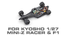 Hop-up Parts for Kyosho Mini-Z Racer & F1