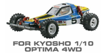 Hop-up Parts for Kyosho Optima 4WD Buggy