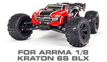 Hop-up Parts for Arrma 1/8 Kraton 6S BLX