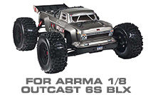 Hop-up Parts for Arrma 1/8 Outcast 6S BLX