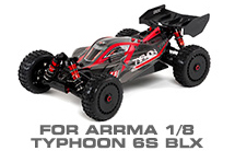 Hop-up Parts for Arrma 1/8 Typhon 6S BLX