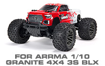 Hop-up Parts for Arrma 1/10 Granite 4X4 3S BLX