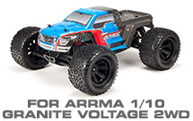 Hop-up Parts for Arrma 1/10 Granite Voltage 2WD