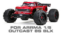 Hop-up Parts for Arrma 1/5 Outcast 8S BLX