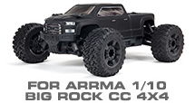 Hop-up Parts for Arrma 1/10 Big Rock Crew Cab 4X4 3S BLX