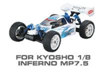 Hop-up Parts for Kyosho MP7.5
