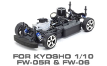 Hop-up Parts for Kyosho FW-05R & FW-06
